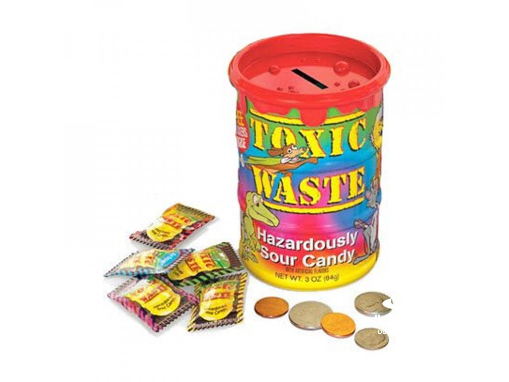 Toxic Waste Tye-Dye Barrel - Giant 64g