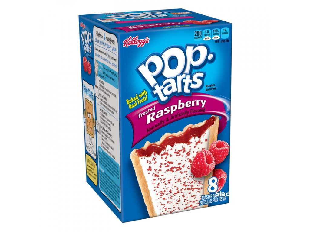Kellogg's Pop Tarts Raspberry 384g