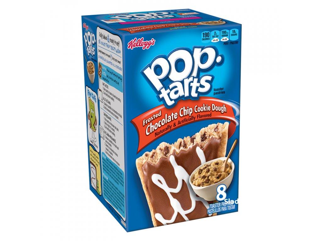 Kellogg's Pop Tarts Chocolate Chip Cookie Dough 384g