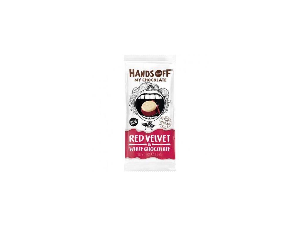 Hands Off My Chocolate Red Velvet / White Chocolate 100g