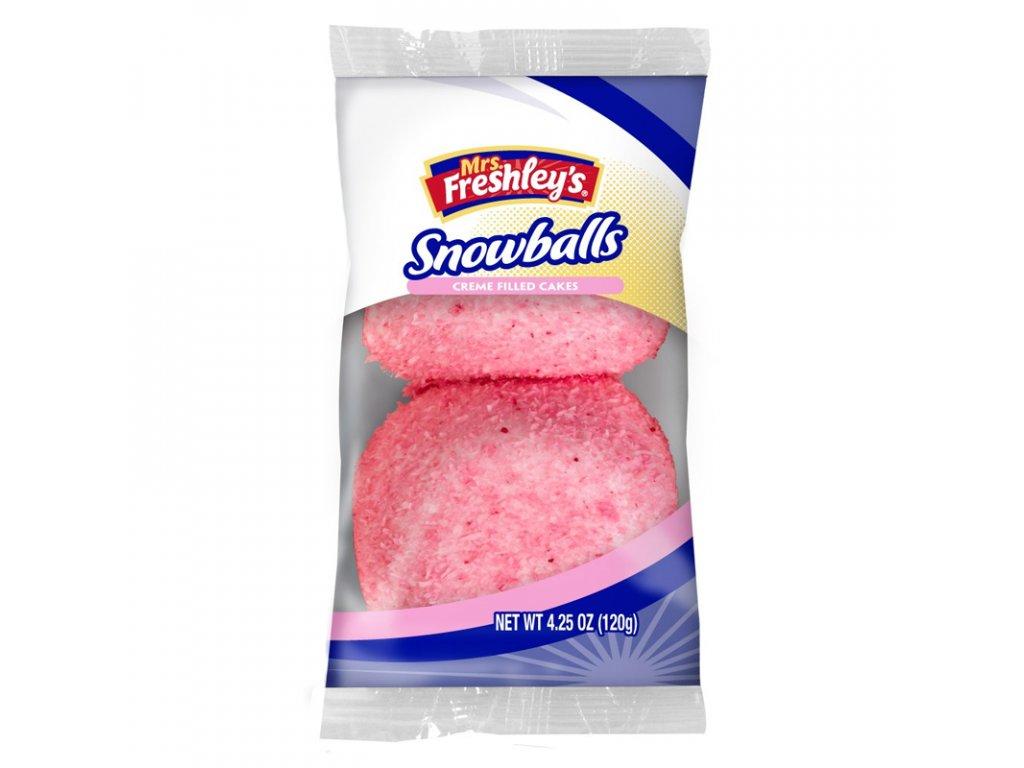 MRS. FRESHLEY'S PINK SNOWBALLS PACK 120g