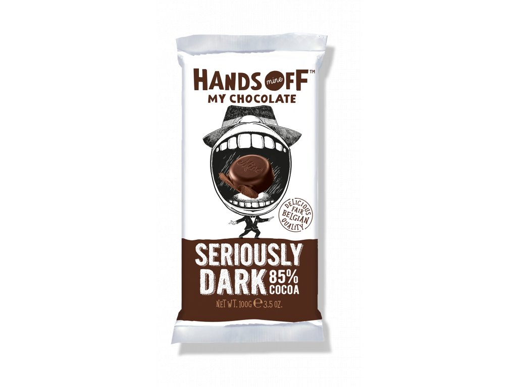 Hands Off My Chocolate Red Seriously Dark 85% 100g
