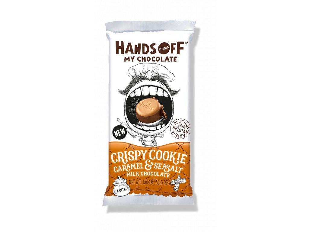 Hands Off My Chocolate Crispy Cookie Caramel & Sea Salt 100g