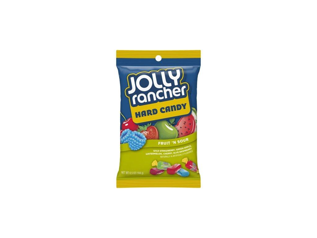 Jolly Rancher Hard Candy Fruit 'n' Sour 184g