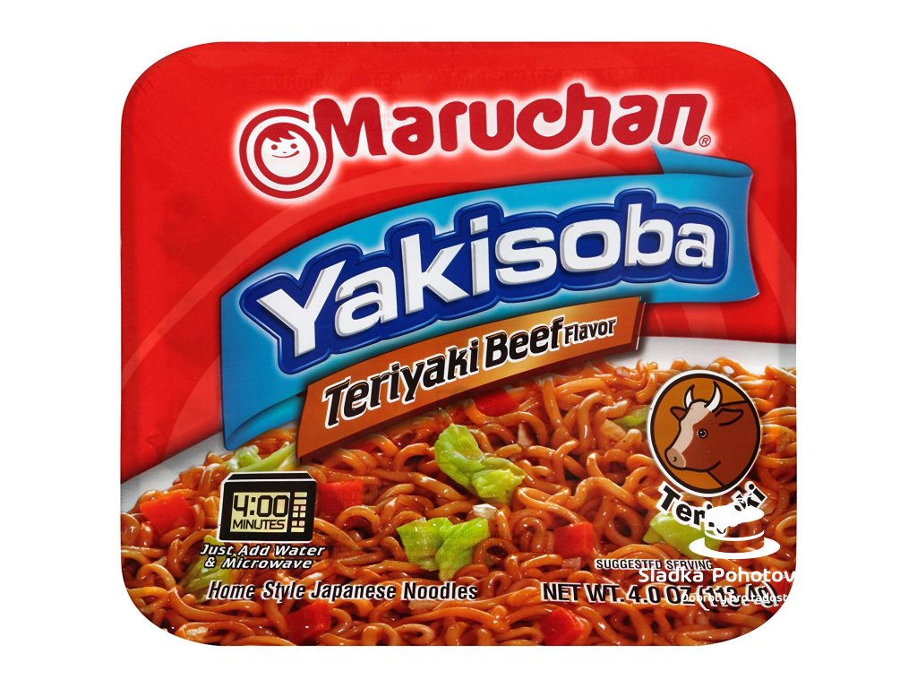 Maruchan Yakisoba - Teriyaki Beef 113,4g