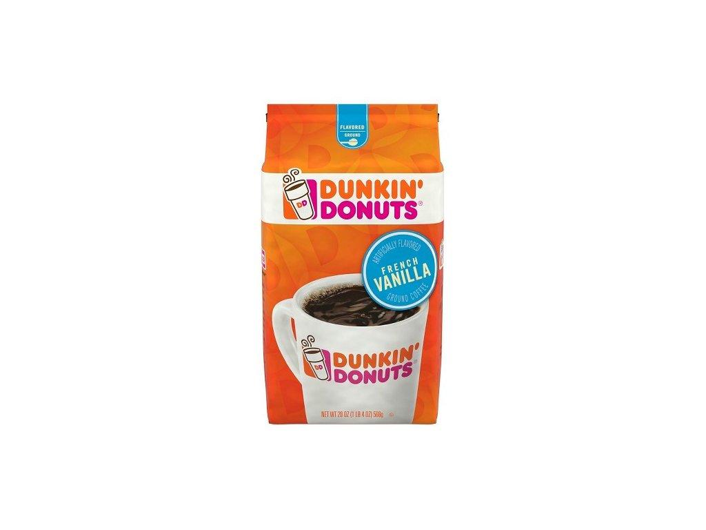 Dunkin' Donuts French Vanilla Ground Coffee 340g
