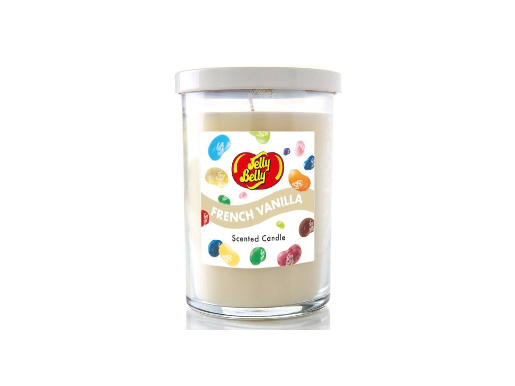 Jelly Belly Candle Lid French Vanilla 311g