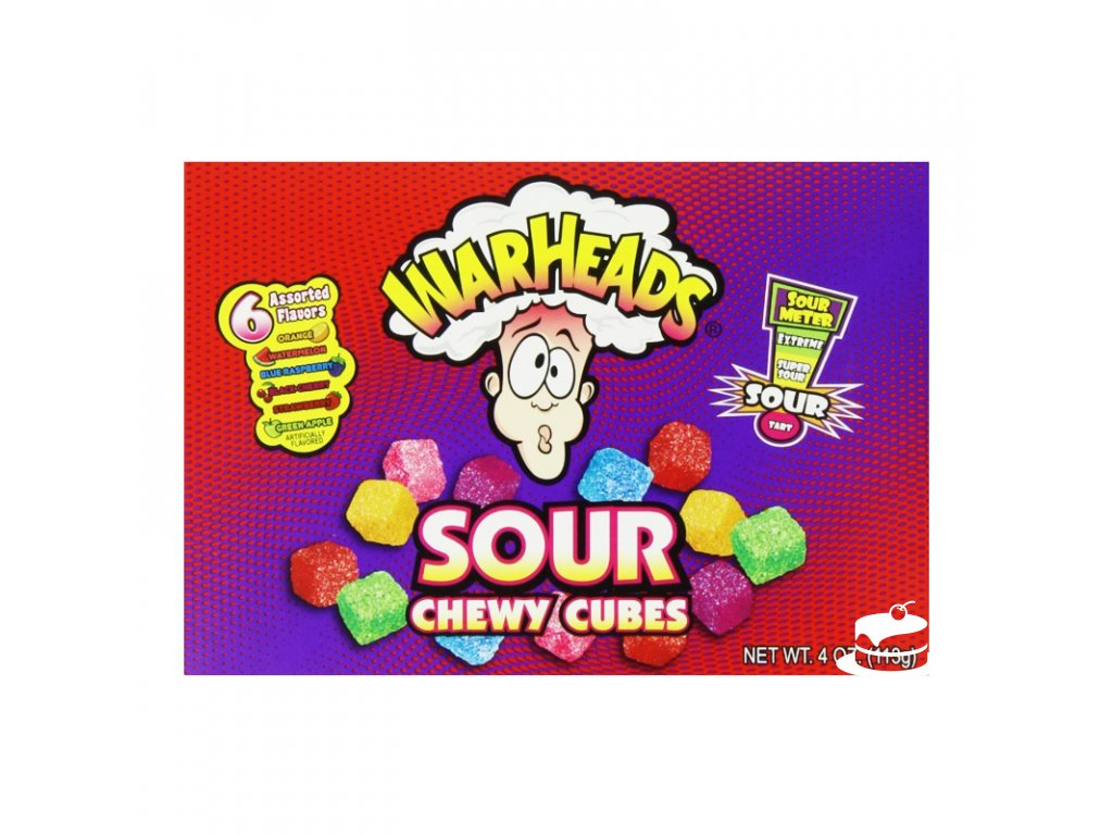 Warheads Theater Box Chewy Cubes 113g