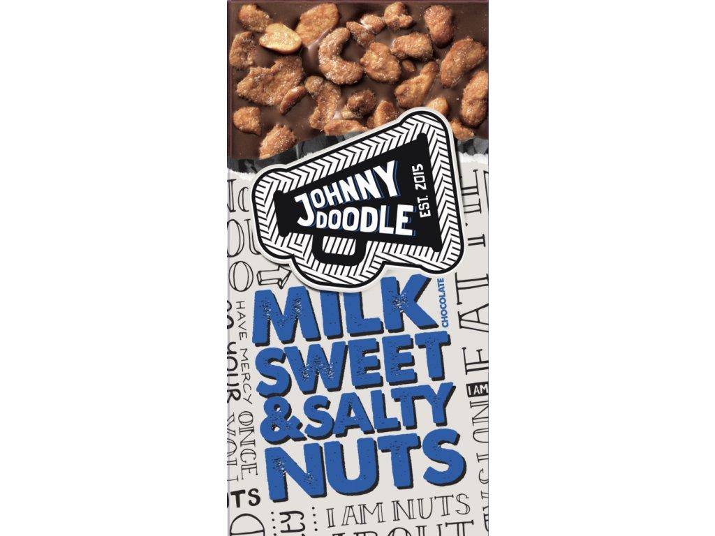 Johnny Doodle Milk Sweet & Salty Nuts 150g