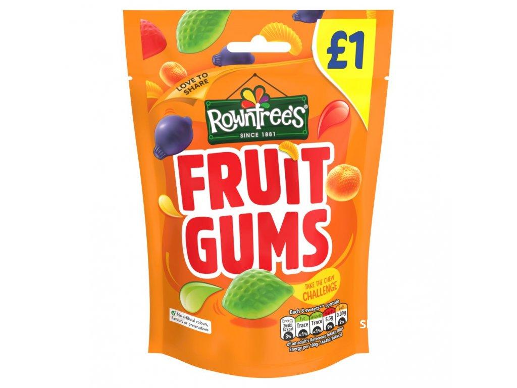 Nestle Rowntrees Fruit Gums 120g