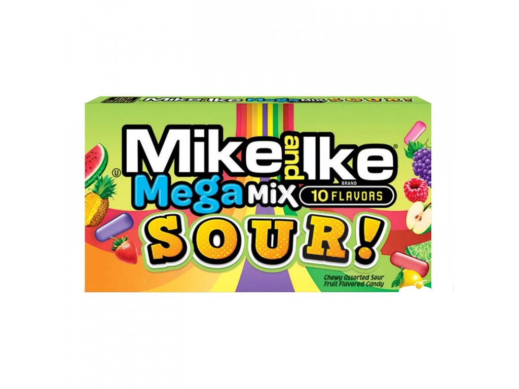Mike & Ike Sour Mega Mix Theatre Box 141g