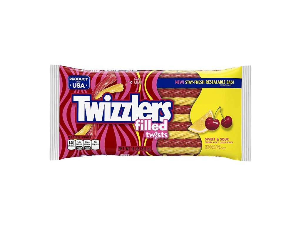 Twizzlers Sweet & Sour Candy Twists 311g