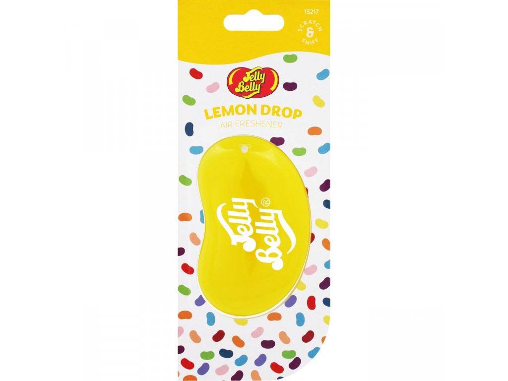 Jelly Belly 3D Car Air Freshener Lemon Drop