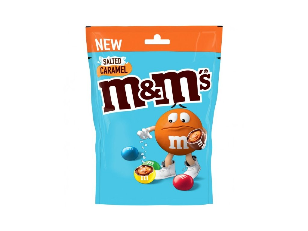 M&ms Salted Caramel Pouch 102g