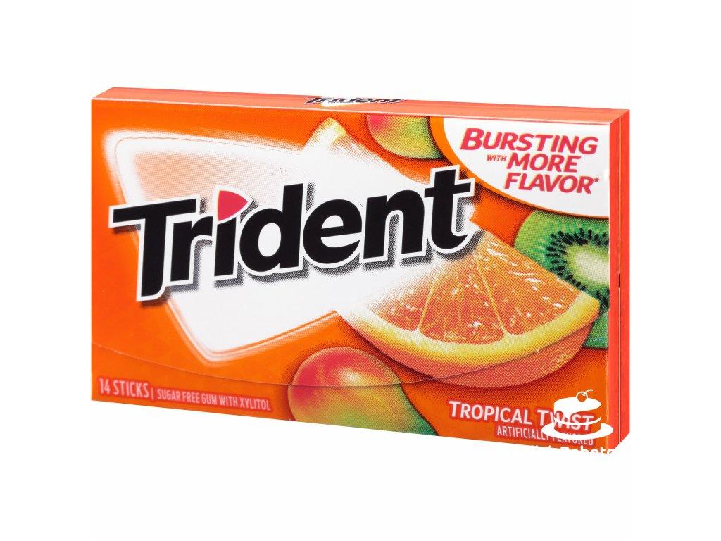 Trident Gum Tropical Twist 27g