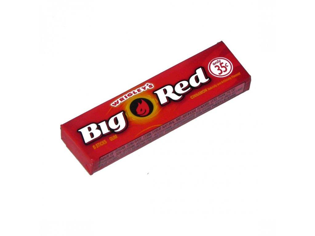 Wrigley's Big Red Gum USA 14g  skořicové žvýkačky