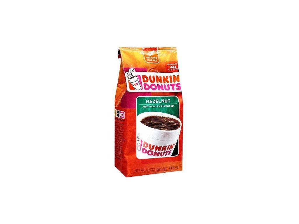Dunkin Donuts Hazelnut Ground Coffee 340g
