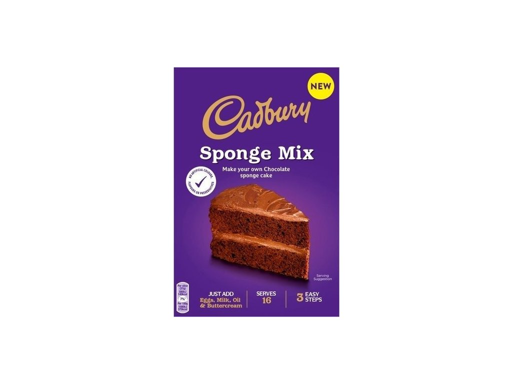 Cadbury Chocolate Sponge Mix 400g