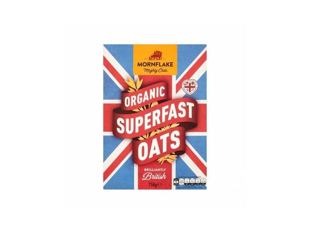 Mornflake Superfast Organic Oats 750g