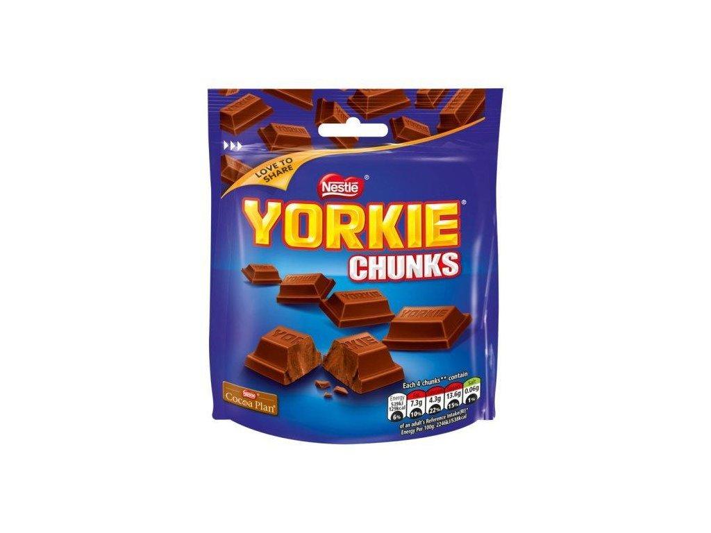 Nestle Yorkie Milk Chunks Bag 100g
