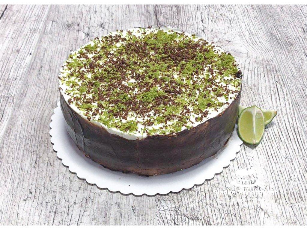 711 limetkovy dort