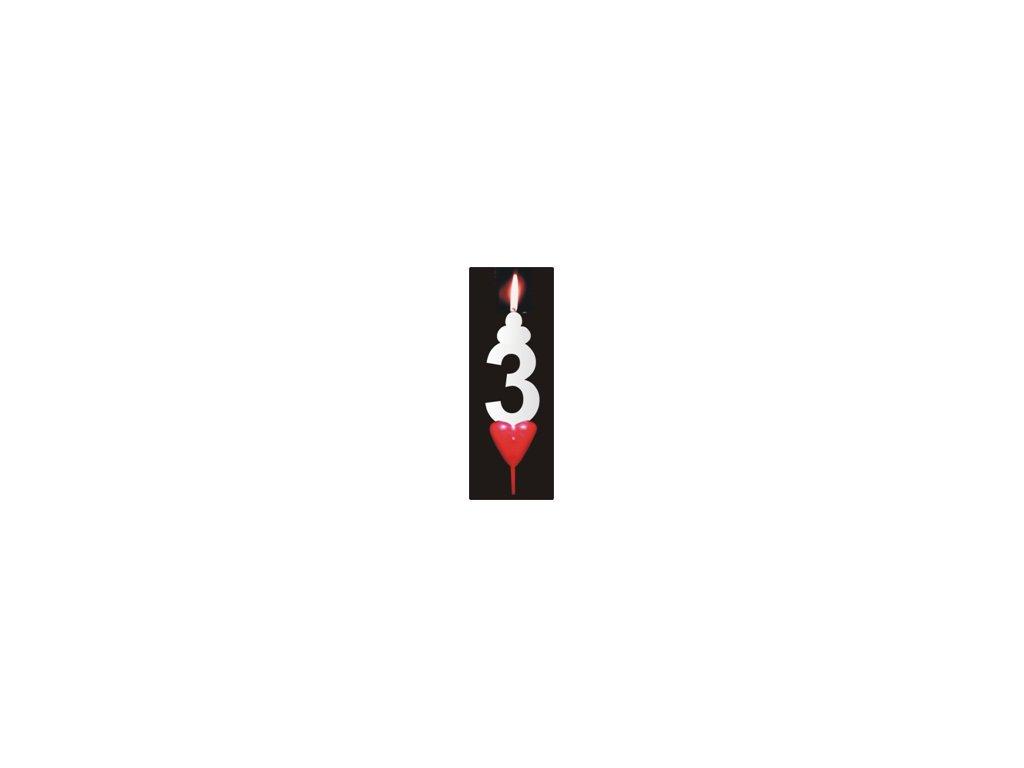 Svíčka číslo: 3
