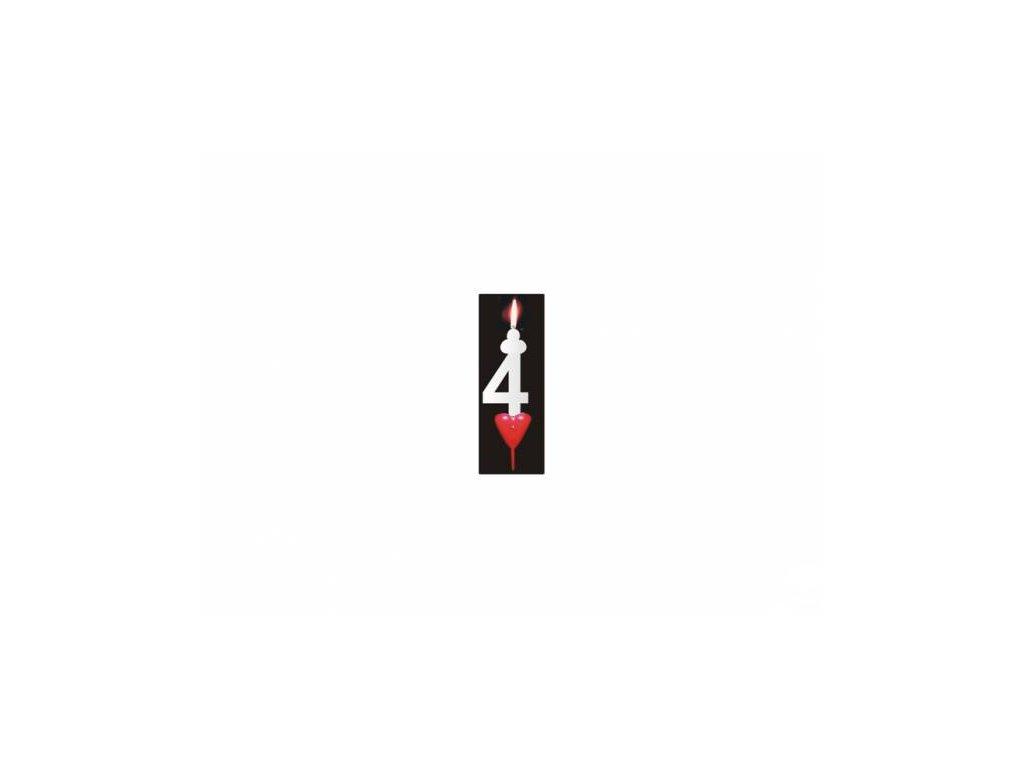 Svíčka číslo: 4