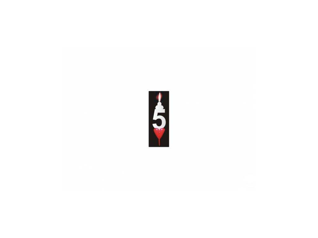 Svíčka číslo: 5