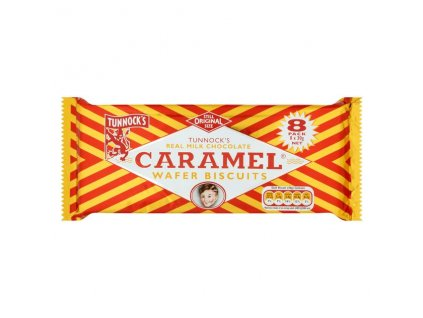 Tunnocks Caramel Log 8 x 32 g