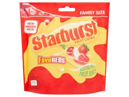 Starburst Fave Red Pouch 210g