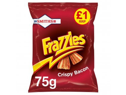 Smiths Frazzles Bacon 75g