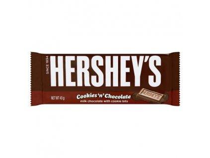 Hershey's Milk Chocolate and Cookies 40g