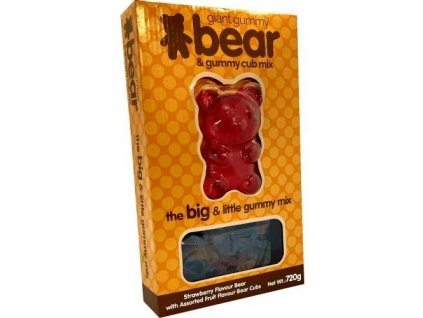 Big and Little Gummy Bear and Cub Mix 720g