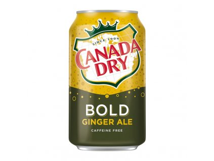Canada Dry Bold Ginger Ale 355ml
