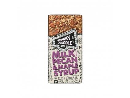 Johhny Doodle Milk Pecan & Maple Syrup 150g