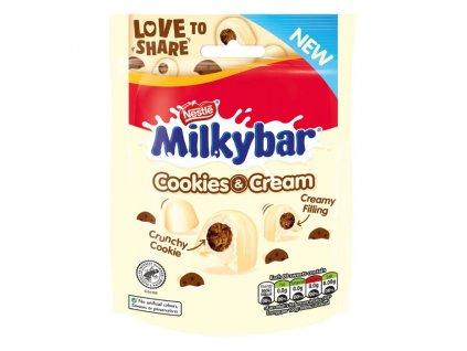 Nestle Milkybar Cookie & Cream Pouch 73g