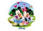 Jedlý papír: Mickey a Minnie