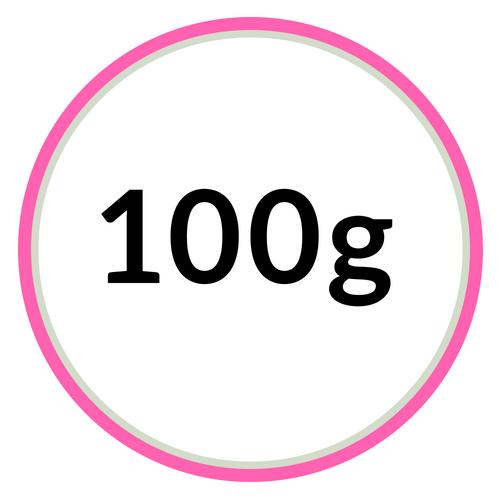 100 gramové hmoty