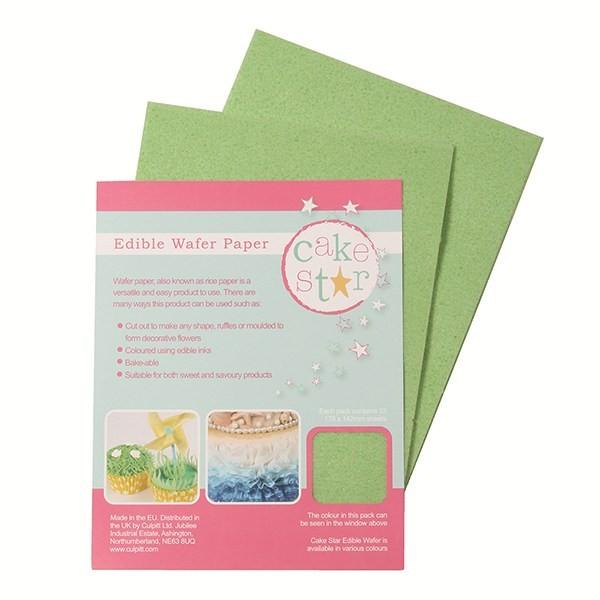 Prázdné listy jedlého papíru