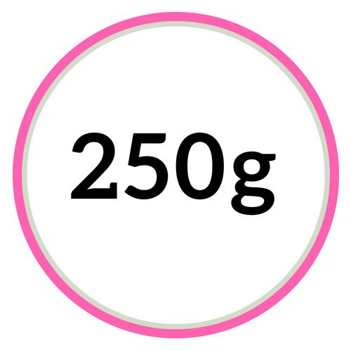 250 gramové hmoty