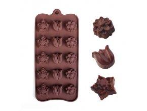 Práce s čokoládou - formy