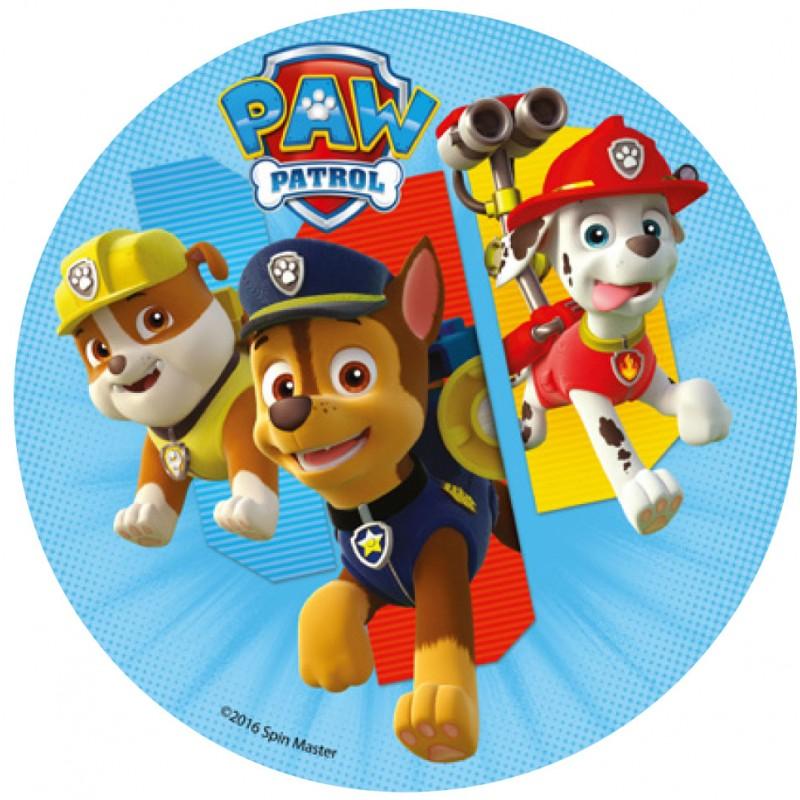 Jedlý papír: Tlapková patrola (Paw patrol)