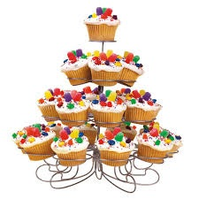 Dortíkové stojany pod muffiny, cupcakes a dortíky