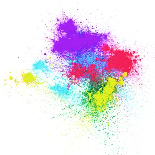 Práškové barvy vodou rozpustné