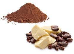 Kakao, kakaové máslo, boby