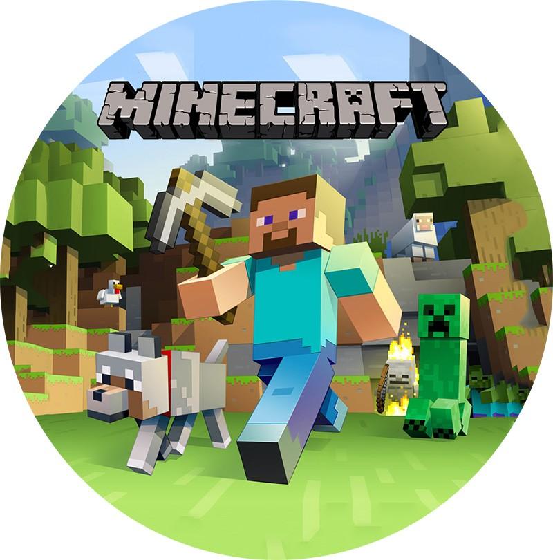 Jedlý papír: Minecraft