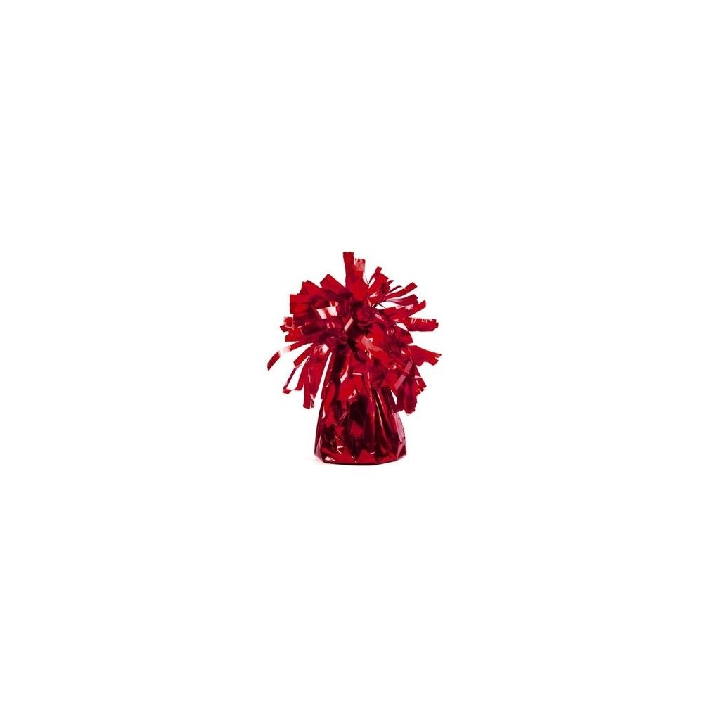 Těžítko na balonky Červené
