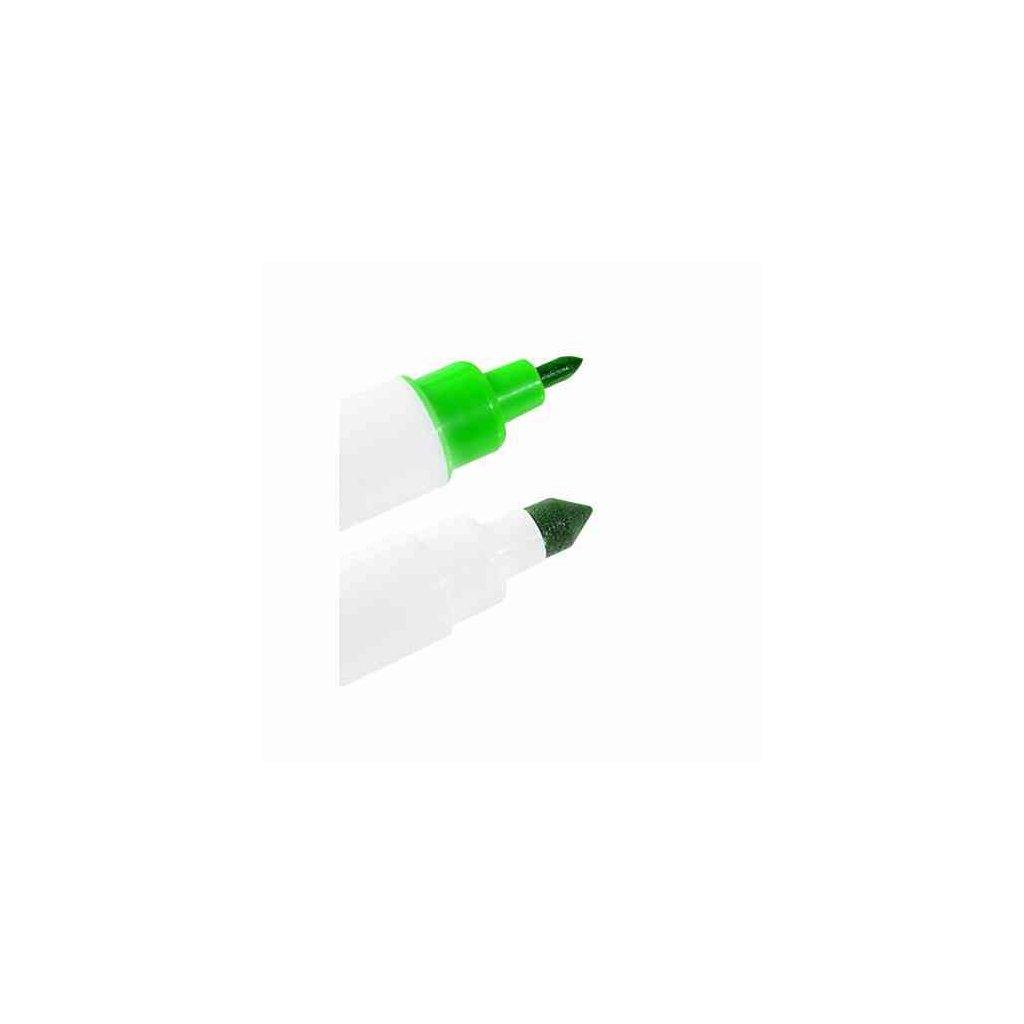 Potravinářský fix 2 hroty - zelený