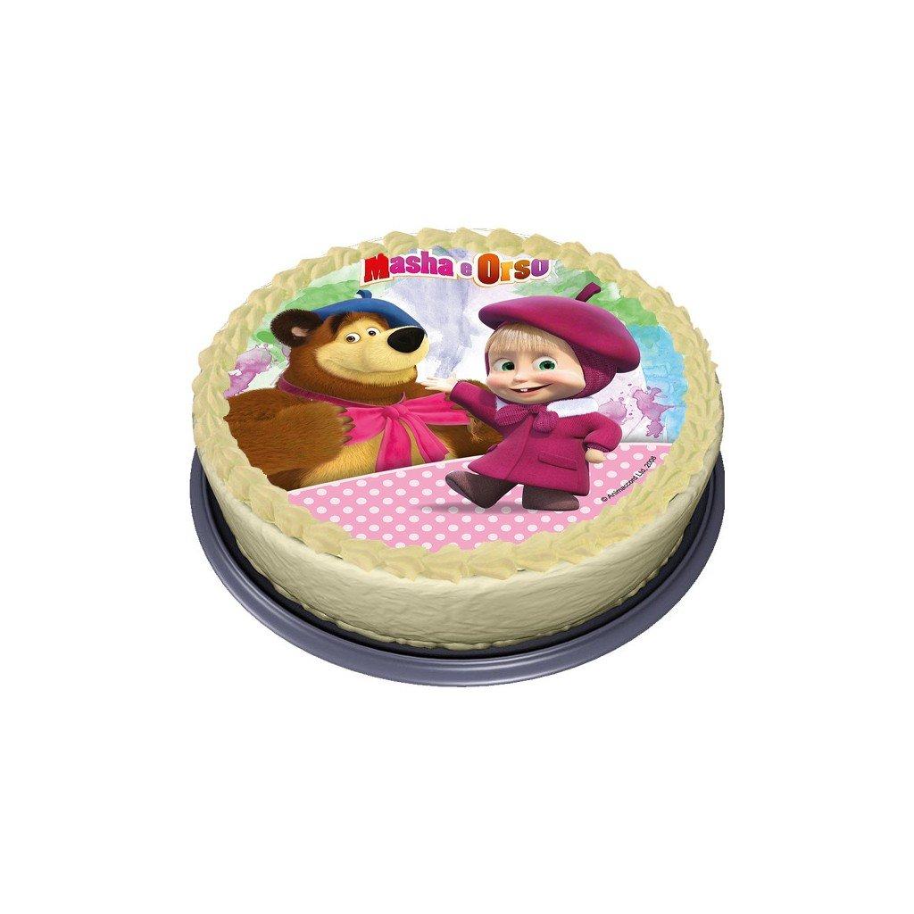 masha ja karhu kakkukuva vohvelista a