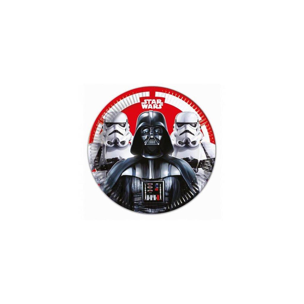 Papírové talíře Star Wars Final Battle 23 cm - 8 ks